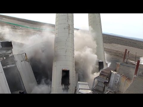 Explosive Demolition Compilation: The Hanford Nuclear Site