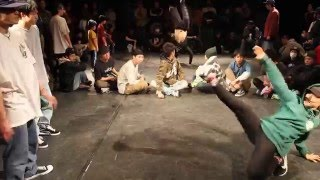 Bgirl Yasmin (KAKB) killing the beat 2014-2016. Japanese footwork queen!