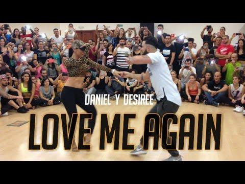 Love me again - Daniel Y Desiree (Bachata)- Madrid salsa festival