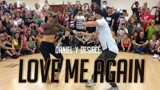 Love me again - Daniel Y Desiree (Bachata)- Madrid salsa festival 2015