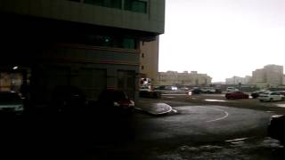 Heavy rain mussafah shabia 9 il ninnulla kazhcha 9-3-2016 morning(1)