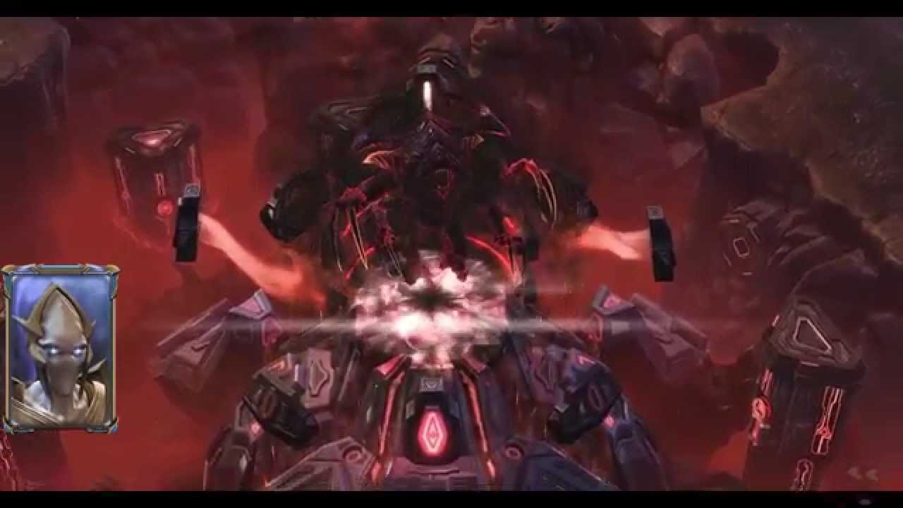 StarCraft 2 - The Death of Amon - Legacy of the Void Game Footage - YouTube