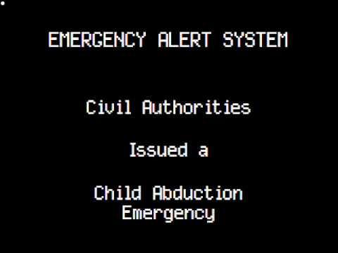 EAS: Texas Amber Alert - YouTube