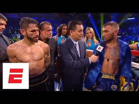 Vasiliy Lomachenko defeats Jorge Linares by knockout in the 10th round | ESPN