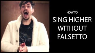 How to sing higher without falsetto - MUST WATCH! - PHILMOUF...