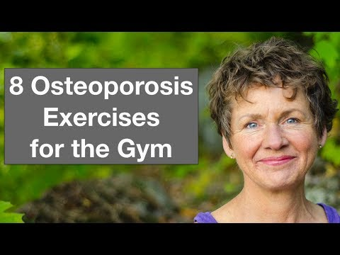 Weight Training and Osteoporosis • 8 Gym Exercises