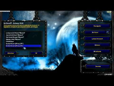 Warcraft III Reconnection Tool ( Stefos GProxy )