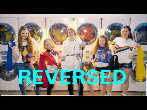 MattyBRaps - Little Bit (feat. Haschak Sisters) | REVERSED