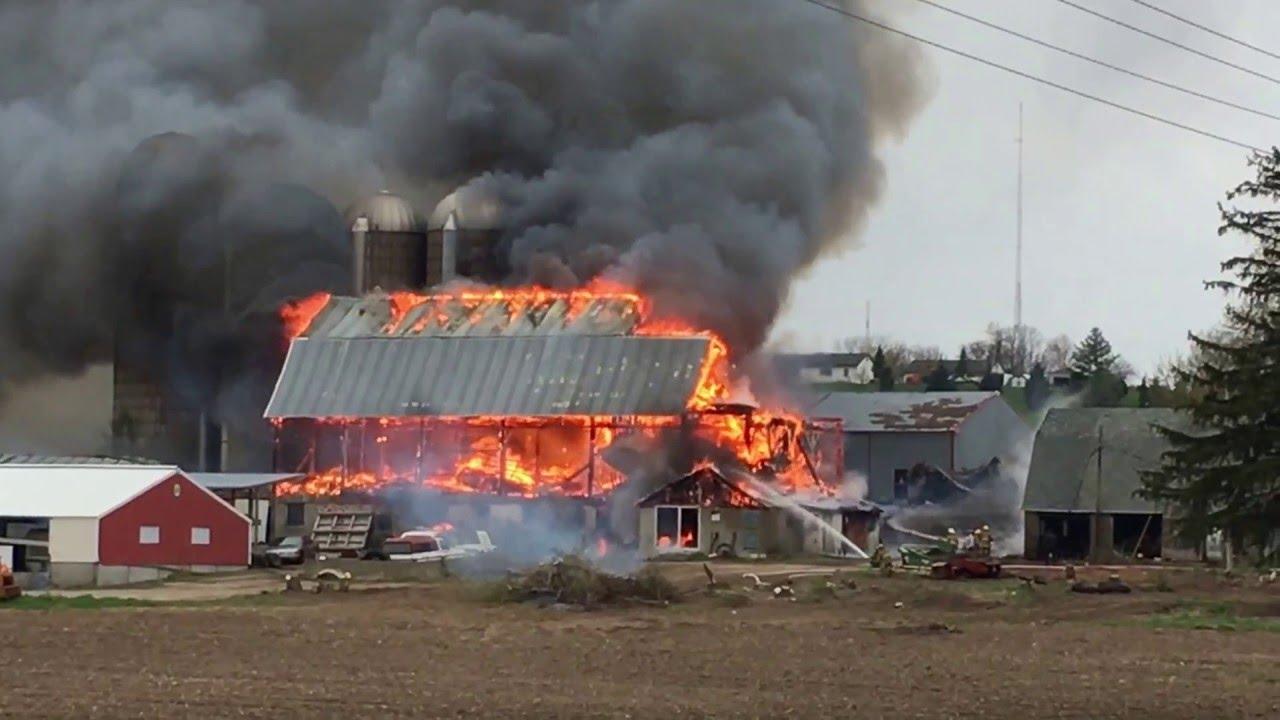 Barn Fire - YouTube