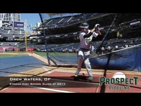 Drew Waters, OF, Etowah High School, Swing  Mechanics at 200 FPS