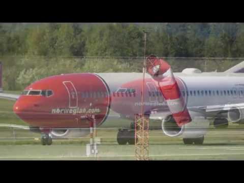 En dag på OSL Oslo Gardermoen Lufthavn
