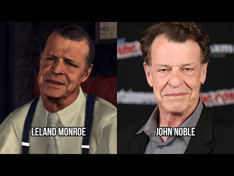 Characters and Voice Actors  L.A. Noire Updated
