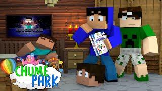 Minecraft: CASA DO HEROBRINE! (Chume Park #6)