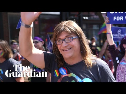 Christine Hallquist: can the US's first transgender nominee for governor win in Vermont?