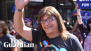 Christine Hallquist: can the US