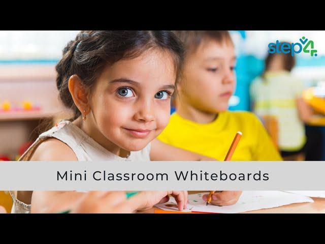 Mini Whiteboards for Classroom Use
