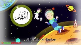 ASMAUL HUSNA   Lagu Anak Indonesia   HD   Kastari Animation Official