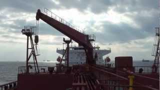 CRANE OPERATION on Merchant Ship Merchant Navy Jobs