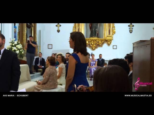 Ave Maria - Schubert Boda San Javier Parroquia San Francisco Javier Bodas wedding Musical Mastia