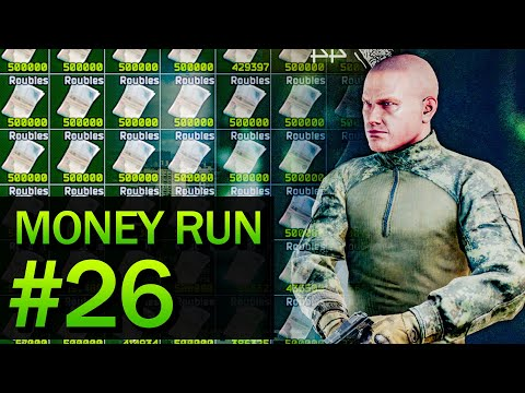 EFT Money Run on Labs #26 - SPAWNED LATE? Time to get scavs!