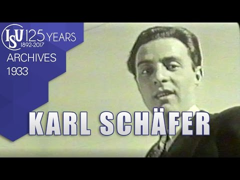 Karl Schäfer (AUT) - World Championships Zürich 1933 (Practice) - ISU Archives