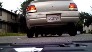 Underneath My 2000 Dodge Stratus