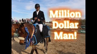 $1Million AIG Grand Prix Winner Nayel Nassar 2018 HITS Thermal, CA-USA