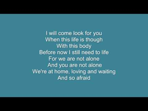 Don't Give Up The Fight - Racoon (lyrics)