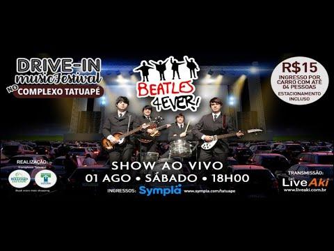 Assista: Drive-In Music Festival - Beatles 4Ever - Complexo Shopping Tatuapé dia 01/08