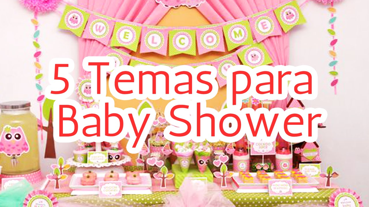 Charming 5 Temas Para Decorar Tu Baby Shower HD   YouTube