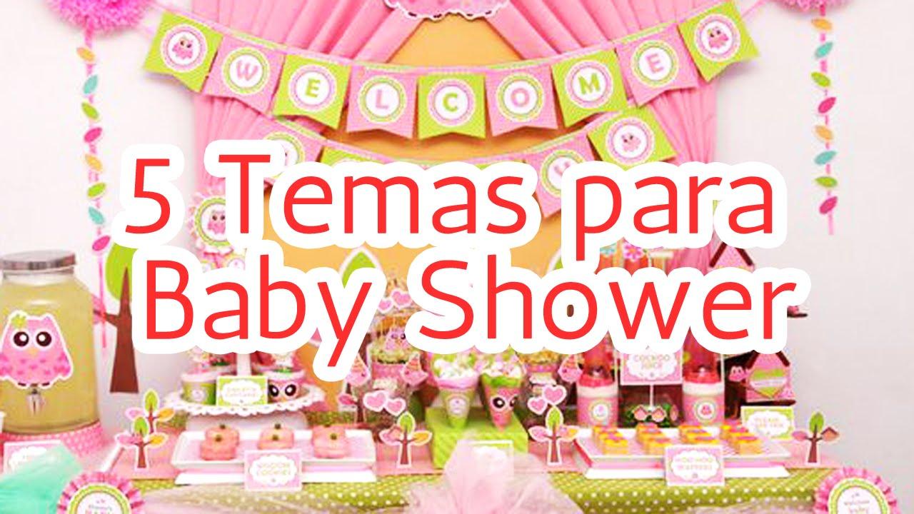 Tematica De Baby Shower Nina.5 Temas Para Decorar Tu Baby Shower Hd