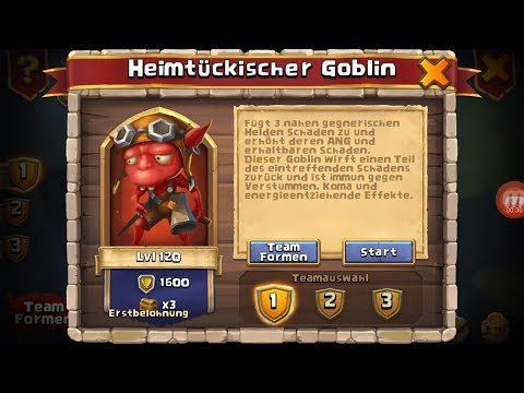 F2P GOBLIN GUIDE #1 - HEIMTÜCKISCHER GOBLIN | CASTLE CLASH