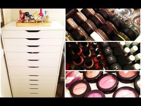New Makeup Organization & Collection!
