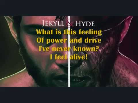 Jekyll and Hyde - alive (on-screen-lyrics)