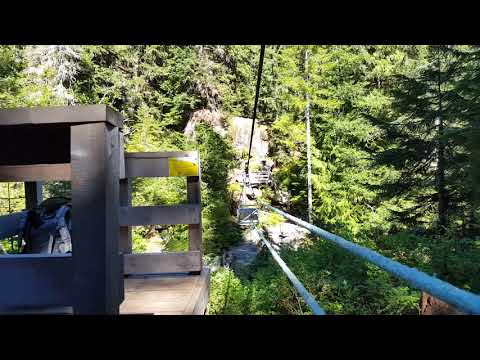 The Poorly Maintained Cable Car in Strathcona Provincial Park