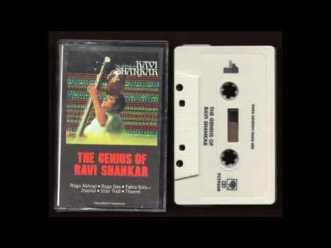 Ravi Shankar - The Genius Of Ravi Shankar - PCT-9560 - 1967 - Cassette Tape Full Album