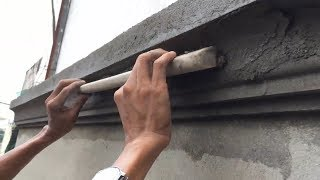 Excellent construction - how to make a wall perfect
