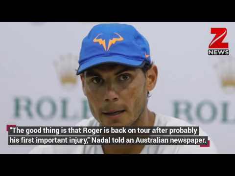 Rafael Nadal welcomes back old foe Roger Federer, praises new generation