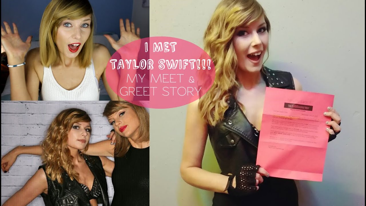 I met taylor swift story time rebecca smile youtube m4hsunfo