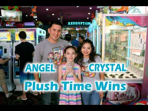 Meeting Plush Time Wins Angel and Crystal at Arcade City  YouTube