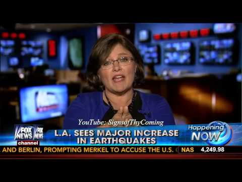 Earthquakes : Los Angeles California sees an uptick in Earthquake Activity this year (Jun 05, 2014)