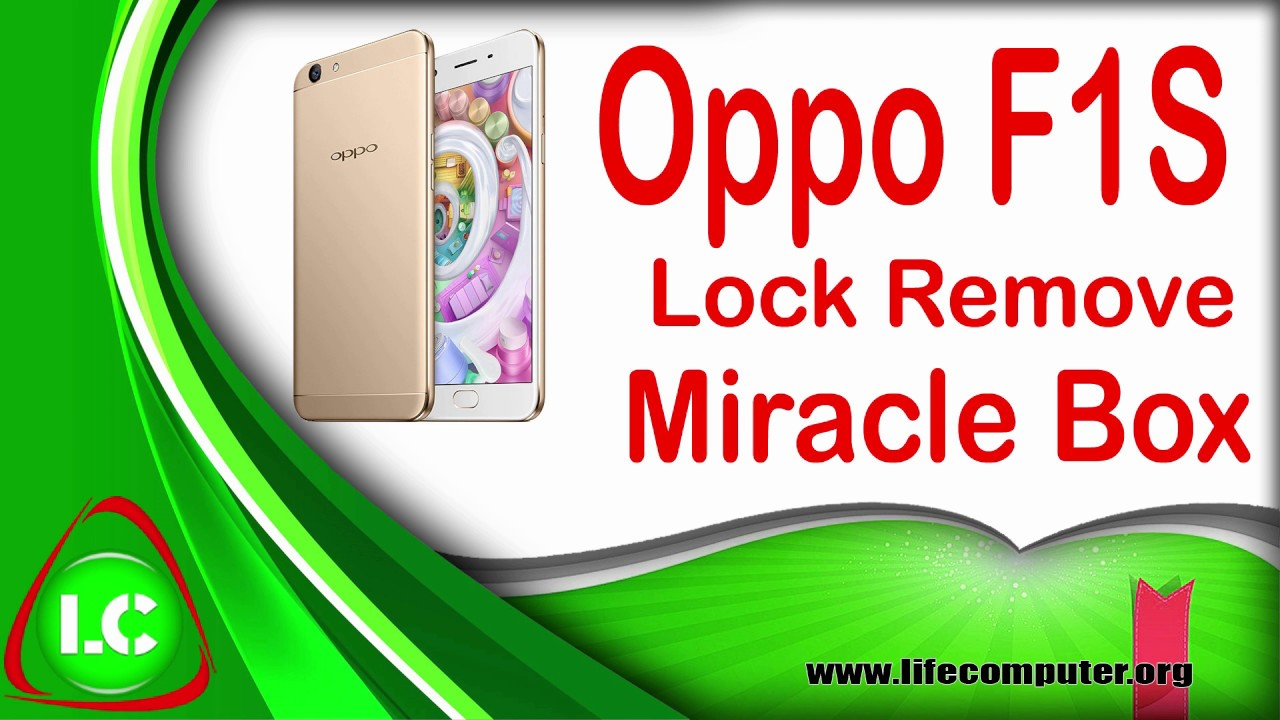 Oppo F1s Hard Reset By Miracle Box   YouTube