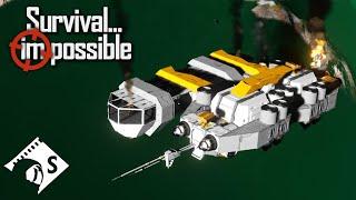 Survival Impossible - LUUUCAAAS!!! #45 - Space Engineers Hardcore Survival
