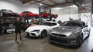 Trading my 2020 Supra for an R35 GTR!