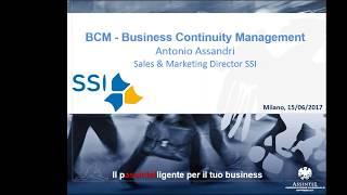 Business Continuity Management thumbnail
