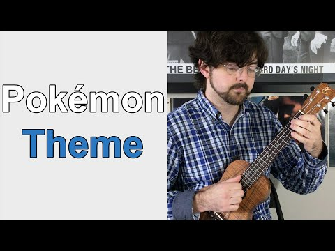 Pokemon Theme Song Solo Uke My Friend Stephen Playing His Arr