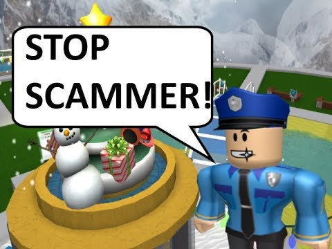 Roblox Scammer Police are on Patrol in Trade Hangout!!!! :)