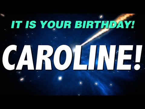 HAPPY BIRTHDAY CAROLINE! This is your gift.