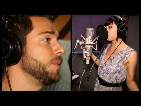 "Exclusive! Watch Zachary Levi and Krysta Rodriguez Record 'First Impressions' from ""First Date"""