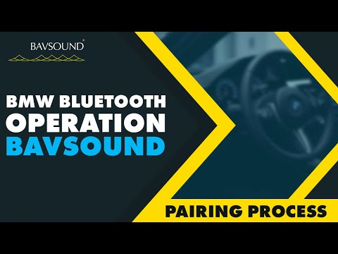 BAVSOUND - BMW Bluetooth Operation - Pairing Process